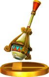 SSBfN3DS Gust Bellows Trophy Model.png