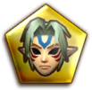 HW Gold Fierce Deity's Mask Badge Icon.png