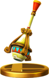 SSBfWU Gust Bellows Trophy Model.png