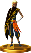 SSBfWU Impa (Skyward Sword) Trophy Model.png