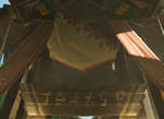 BotW Brazen Beak Entrance Sign.png
