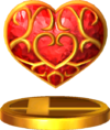 SSBfN3DS Heart Container Trophy Model.png