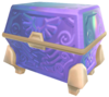 A Goddess's Treasure Chest showing Bump mapping effects and artificial reflections