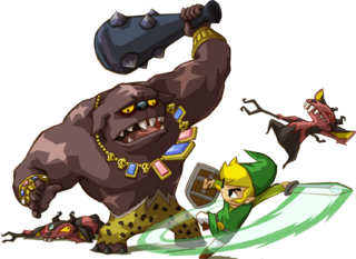 ST Link Fighting Big Blin and Miniblins Artwork.png