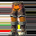 BotW Flamebreaker Boots Orange Icon.png