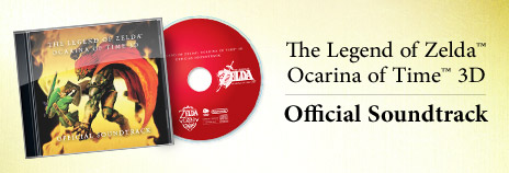 Legend of Zelda Ocarina of Time 3D Official Sound Track OoT3D_OST