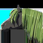 BotW Long Green Mane Icon.png
