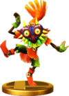 SSBfWU Skull Kid Trophy Model.png