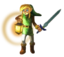 ALBW Link Exploring Dungeon Artwork.png