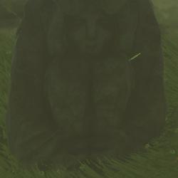 Horned Statue