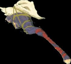 BotW Dragonbone Moblin Club Model.png