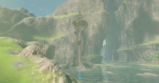 BotW Dueling Peaks Tower.png