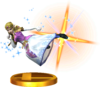 SSBfN3DS Zelda (Alt.) Trophy Model.png