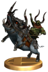 SSBB King Bulblin Trophy Model.png