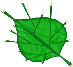 TWW Deku Leaf Model.png