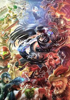 SSB4 Bayonetta Illustration.jpg