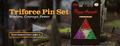The Legend of Zelda Triforce Pin Set Banner.png