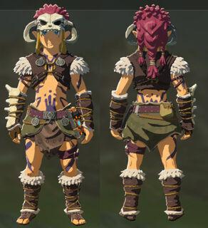 BotW Link Wearing Barbarian Set.jpg