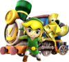 HWS Toon Link Sand Wand and Spirit Train Artwork.png