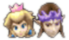 This sticker is only usable by Peach and Zelda