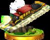 SSBfN3DS Spirit Train Trophy Model.png