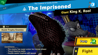 SSBU The Imprisoned Spirit Battle.png