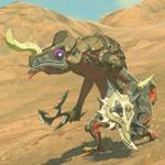 BotW Hyrule Compendium Black Lizalfos.png
