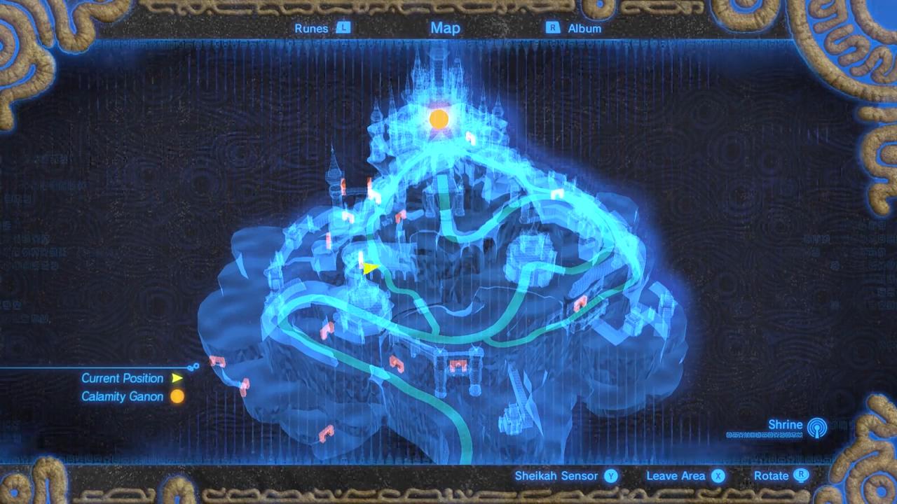 Hyrule Castle Breath Of The Wild Zelda Wiki