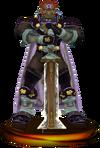 SSBM Ganondorf (Smash) Trophy Purple Model.png