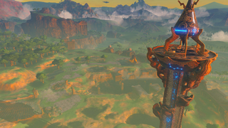 BotW Great Plateau Tower Pre-release.png