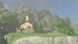 BotW Link's House Renovated Exterior.png