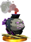 SSBfN3DS Armored Train Trophy Model.png