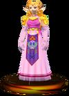 SSBM Zelda Trophy Model.png