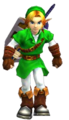 OoT3D Link Iron Boots Render.png