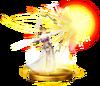 SSBfWU Light Arrow (Zelda) Trophy Model.png