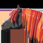 BotW Long Red Mane Icon.png