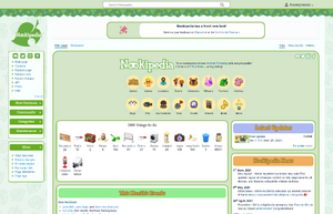 Nookipedia's current layout