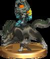SSBB Wolf Link Trophy Model.png