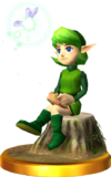 SSBfN3DS Saria Trophy Model.png