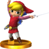 SSBfN3DS Toon Link (Alt.) Trophy Model.png