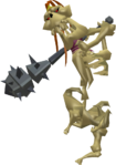 TWW Stalfos Figurine Model.png