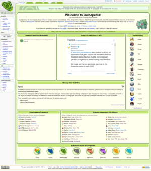 Bulbapedia's current layout