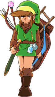 TLoZ Link Carrying Treasures Artwork.png