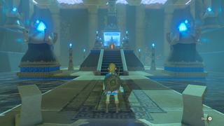 BotW Blessing Shrine Interior 4.png