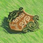 BotW Hyrule Compendium Forest Dweller's Shield.png