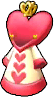 Zelda Tri Force Heroes Costumes Outfits Queen of Hearts