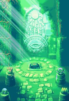 The Four Sword Sanctuary in Four Swords