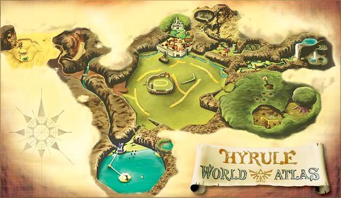 How Hyrules landscape evolved  Theorizing  Zelda Universe Forums