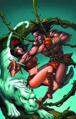 Grimm Fairy Tales Presents The Jungle Book Vol 1 5-PA.jpg
