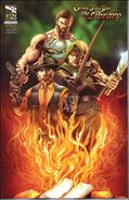 Grimm Fairy Tales Presents The Library Vol 1 2-B
